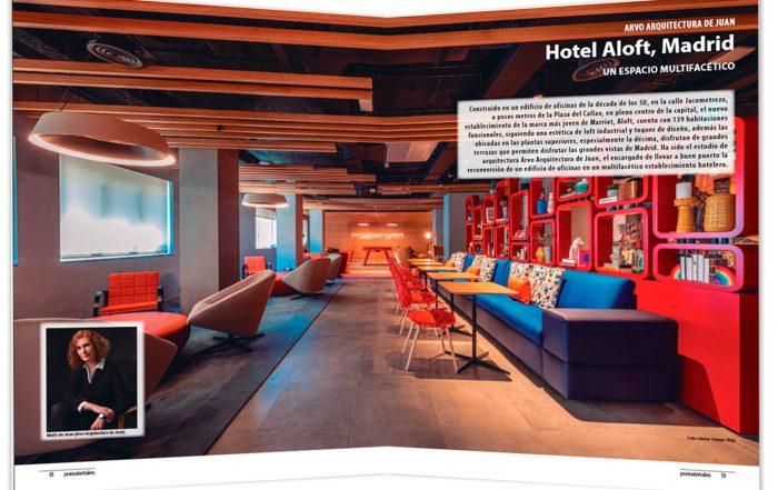 Hotel Aloft Madrid - Arquitectura